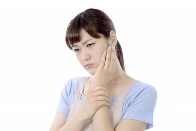 辛い顎関節症