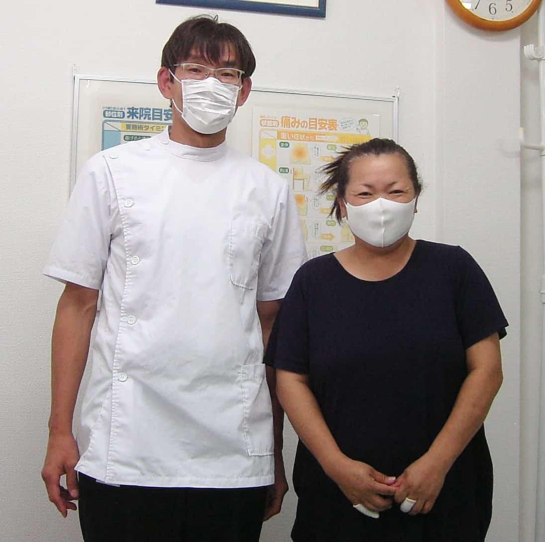 顎関節症から回復した國吉さん