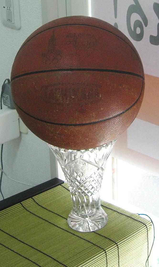 バスケットボール-院内に飾ってあります